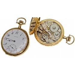 MA,Boston-,14K Howard (Keystone) 23 J 12 Size Watch in Original Case