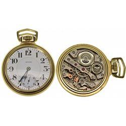 MA,Boston-,Howard Series O 23J Open Face L Size Pocket Watch