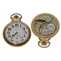 IL,Springfield-Sangamon County,16 Size Illinois Watch Co. Bunn Special 21J Pocket Watch