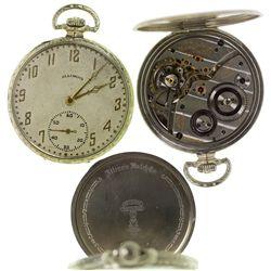 IL,Springfield-,Illinois Marquis Autocrat 17 Jewel Pendant Pocket Watch
