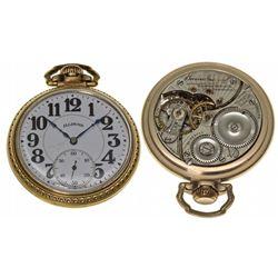 IL,Springfield-Sangamon County,Illinois Watch Co. Bunn Special 21J Pocket Watch