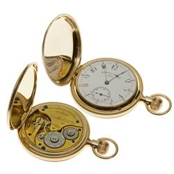 ,-,7J Non Magnetic Watch in 14K Hunter Case