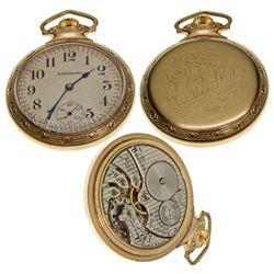 IN,South Bend-St. Joseph County,Scarce Studebaker 16 size 21J Pocket Watch