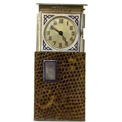 ,-,Telesco Traveler's Snakeskin Match Case Pocket Watch