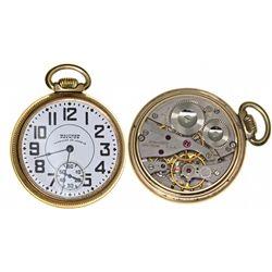 MA,Waltham-Middlesex County,Waltham Premier Vanguard 21J Pocket Watch