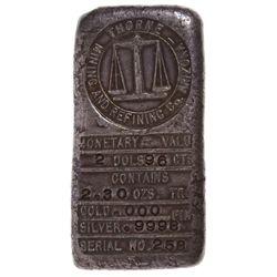 AZ,Prescott-Yavapai County,Thorne Mining and Refining Co. Silver Ingot No. 258