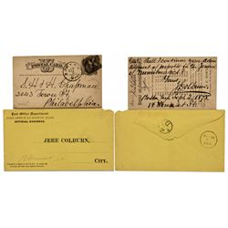 Numismatic Association President Jeremiah Colburn Pieces
