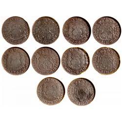 ,Mexico-,El Cazador Silver Shipwreck Coins
