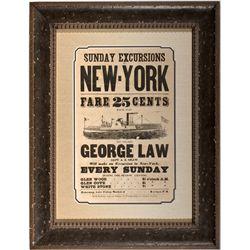 NY,New York City-,George Law Broadside