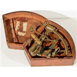 ,UK - London, England-,Captain Joseph A. McClure's Sextant