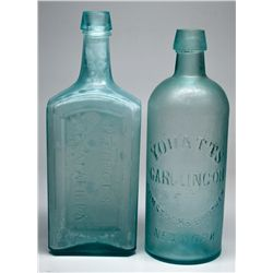 NY,-,Comstock & Brother Drug and Sarsaparilla Bottles