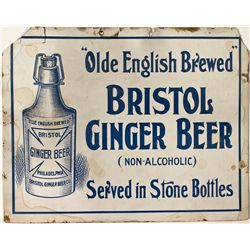 Bristol Ginger Beer Advertising Sign