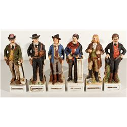 ,-,McCormick Gunfighter Series Whiskey Collector Bottles