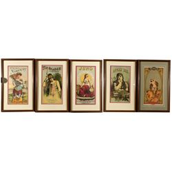 ,-,T.C. Williams Tobacco Labels Framed Prints