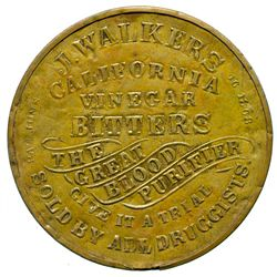 CA,-,J. Walkers California Vinegar Bitters Mirror