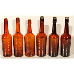 CA,-,Whiskey Bottle Collection
