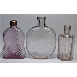 CA,Folsom-Sacramento County,Antique Bottle Trio
