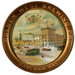 CA,Oakland-Alameda County,Golden West Brewing Co. Beer Tray
