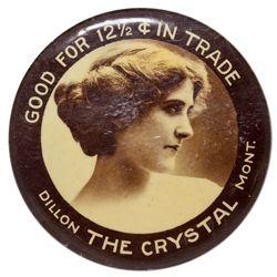 """MT,Dillion Beaverhead County-Beaverhead County,Crystal """"Good For"""" Mirror"""
