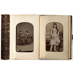 Western - Tintype CDV Album