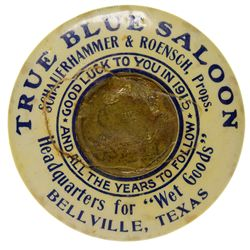 TX,Bellville-Austin County,Blue Saloon Mirror