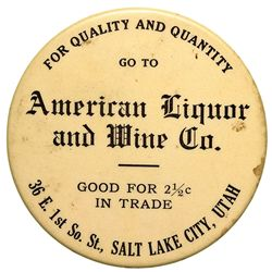 UT,Salt Lake City-,American Liquor and Wine Co. Good For Mirror