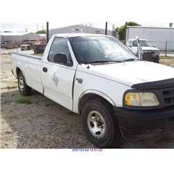 1998 - FORD F150