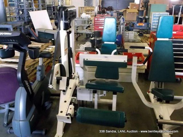 BODY MASTERS CX118A SEATED LEG CURL MACHINE