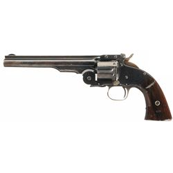 Outstanding San Francisco Police U.S. Contract Smith & Wesson 2nd Model Schofield Single Action Revo