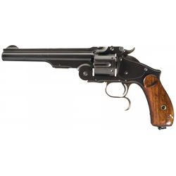 Ludwig Loewe & Company Copy of the Smith & Wesson Model 3 Russian 3rd Model Single Action Revolver