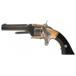Fine and Exceptionally Rare Smith & Wesson Model Number 1 1st Issue 2nd Type Single Action Revolver