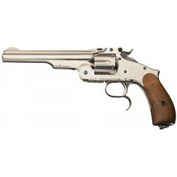 Exceptional Smith & Wesson Third Model Number Three Russian Revolver