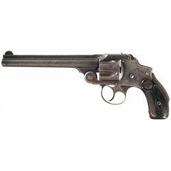 Extremely Rare and Highly Desirable U.S. Smith & Wesson 38 Safety Hammerless Army Test Revolver with