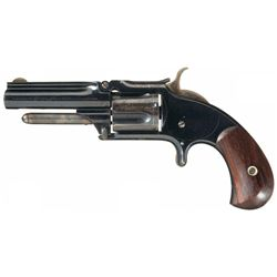 Very Fine Smith & Wesson Model 1 1/2 Second Issue Revolver with Rare Short Barrel