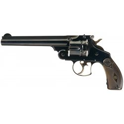 Excellent Highly Desirable Smith & Wesson .44 Double Action Frontier Revolver