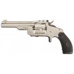Excellent Smith & Wesson First Model .38 Single Action Baby Russian Revolver