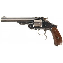 Scarce Smith & Wesson Model 3 Russian Third Model Commercial Reissue Revolver with Factory Letter