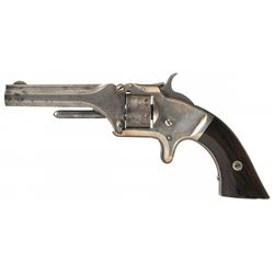 Rare Documented 2nd Quality Marked Smith & Wesson Model No. 1 2nd Issue Revolver with Factory Letter