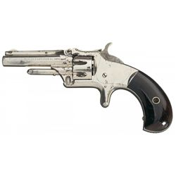 Rare Smith & Wesson Model Number 1 3rd Issue Revolver with Scarce Short Barrel