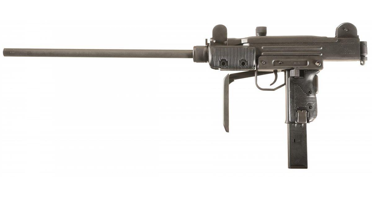 Group Industries Model Hr4332 S Semi Automatic Mini Uzi Carbine