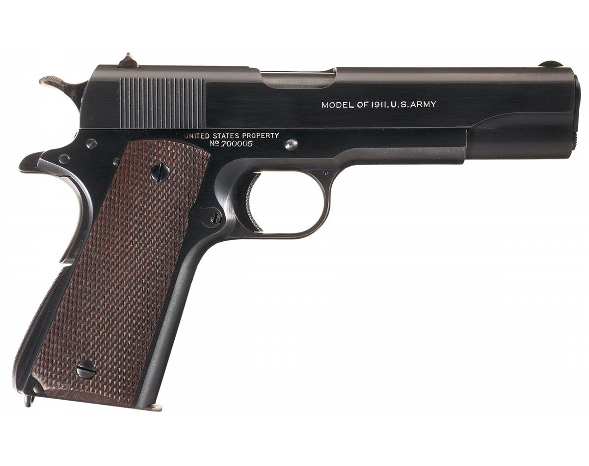 Rare Documented Low Serial Number Documented U S  Colt