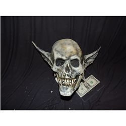VAMPIRE DEMON SKULL MASK WITH BAT EARS WEARABLE