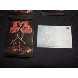 EVIL DEAD HUGE HORDE OF 268 VINTAGE PROMO POSTCARDS NICE RESALE LOT