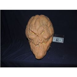 PUMPKIN DEMON GOD SOLID SILICON ON URETHANE HEAD PROTOTYPE FROM UNKNOWN PRODUCTION
