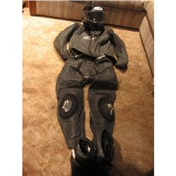 TERMINATOR SALVATION RED EYED MOTO - TERMINATOR COMPLETE STUNT SUIT