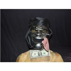 300 MEET THE SPARTANS HERO IMMORTALS MASK WITH TONGUE & TURBAN SCREEN USED & MATCHED!