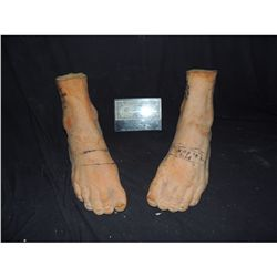 300 PAIR OF EPHIALTES FEET USED TO MAKE HIS SANDALS DIRECT FROM PRODUCTION