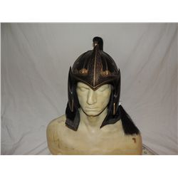 ANCIENT MONGOLIAN FIRE NATION WARRIOR SCREEN USED OPEN FACE HELMET 2