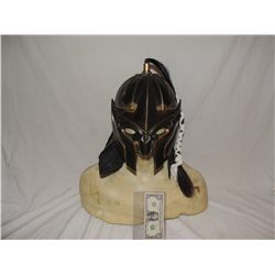 ANCIENT MONGOLIAN FIRE NATION WARRIOR SCREEN USED HELMET WITH BAT LIKE FACE SHIELD 2