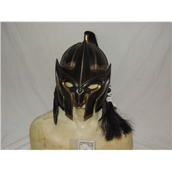 ANCIENT MONGOLIAN FIRE NATION WARRIOR SCREEN USED HELMET WITH BAT LIKE FACE SHIELD 4